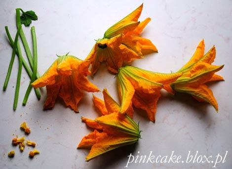 kwiaty cukinii, zucchini flower, courgette flowers, fior di zucca, edible flowers, jadalne kwiaty