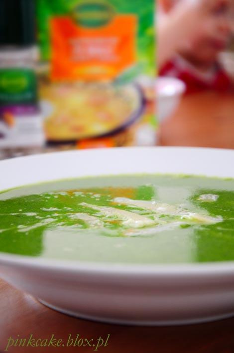 zupa rukolowa, ruccola soup, zupa krem z rukoli, zielona zupa krem